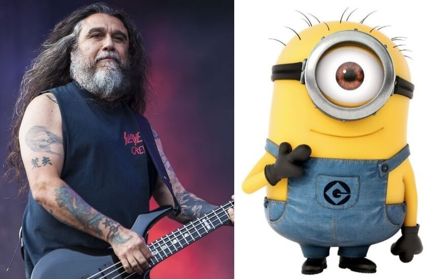 Tom Araya and Minion