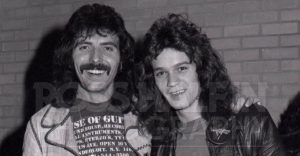 Tony Iommi and Van Halen