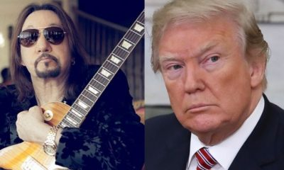 Ace Frehley Donald Trump