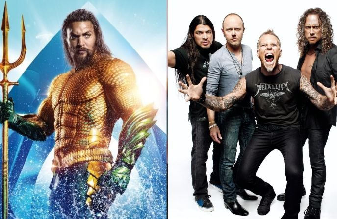 Aquaman Metallica