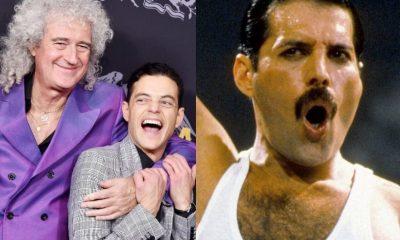 Brian May Rami Malek Freddie Mercury