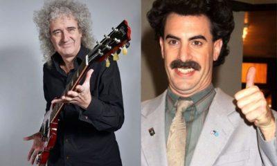 Brian May Sacha Baron Cohen