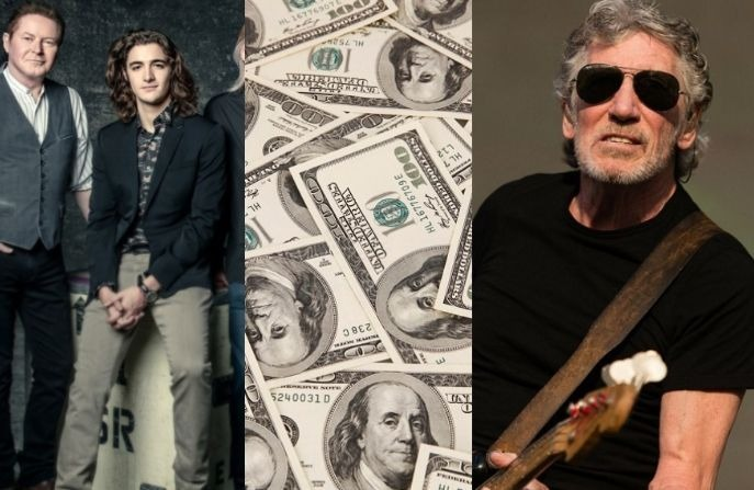 Eagles money Roger Waters