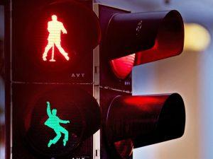 Elvis Presle traffic lights