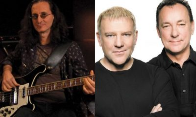 Geddy Lee Alex Lifeson Neil Peart