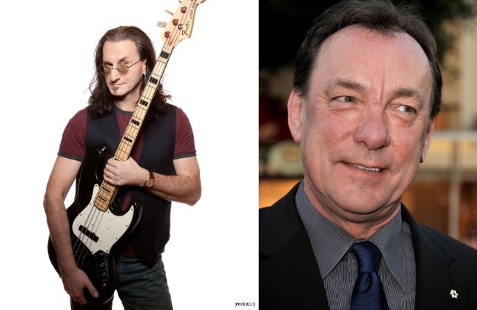 Geddy Lee Neil Peart