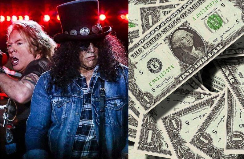 Guns N Roses profit tour