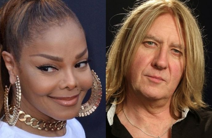 Janet Jackson Joe Elliott