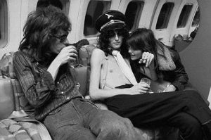 Jimmy Page girl boeing