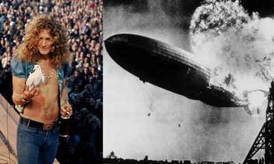 Led Zeppelin I cover history
