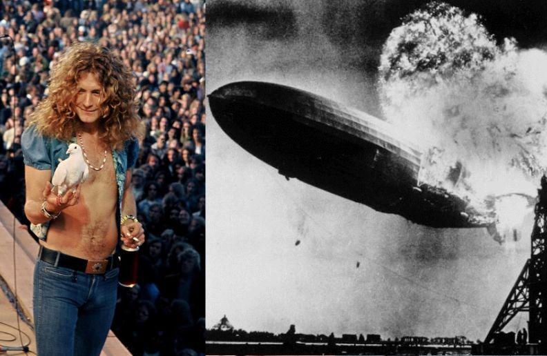 Led Zeppelin I cover history