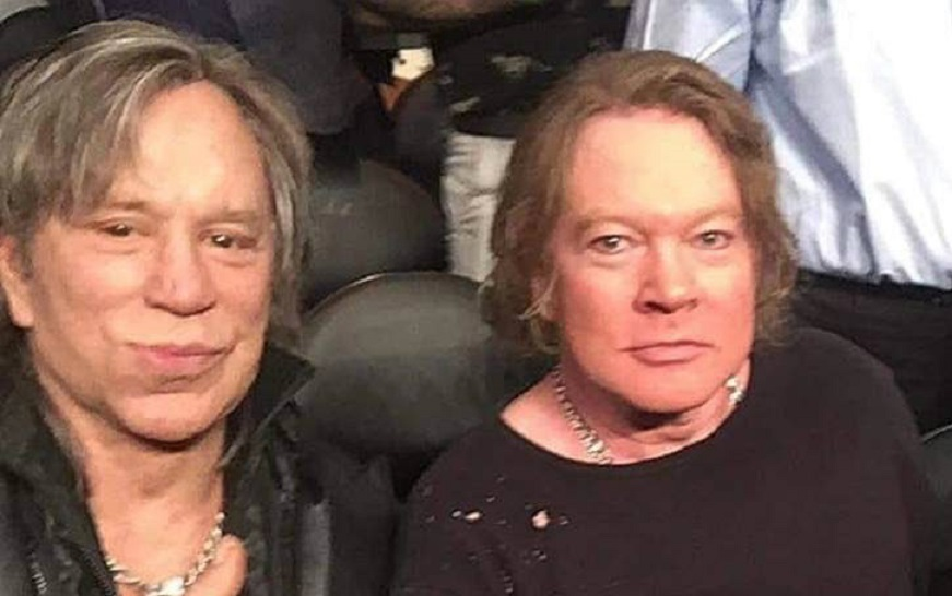 Mickey and Axl