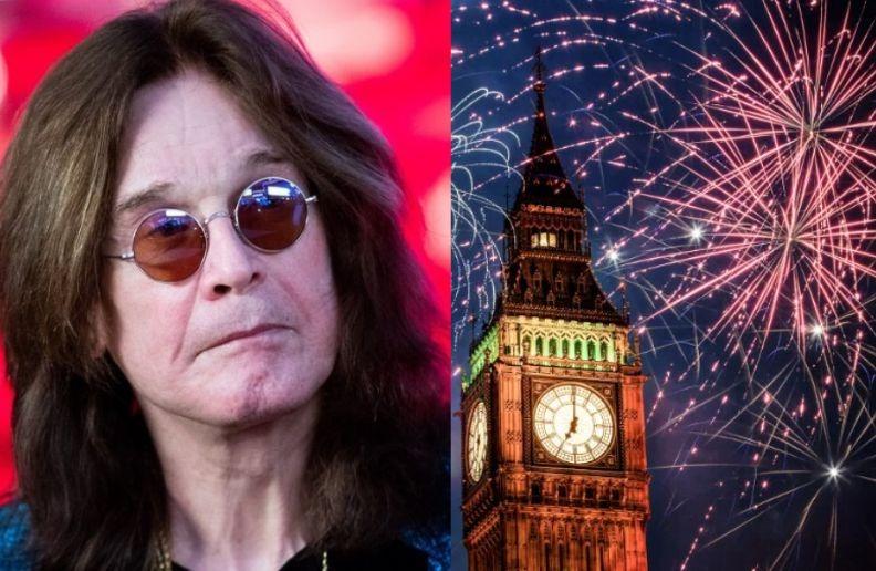 Ozzy Osbourne new year eve