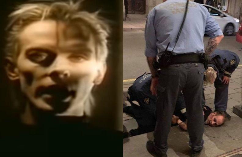 Peter Murphy Bauhaus arrested