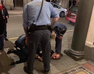Peter Murphy arrested
