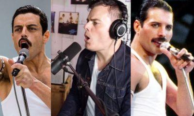 Rami Malek Marc Martel Freddie Mercury
