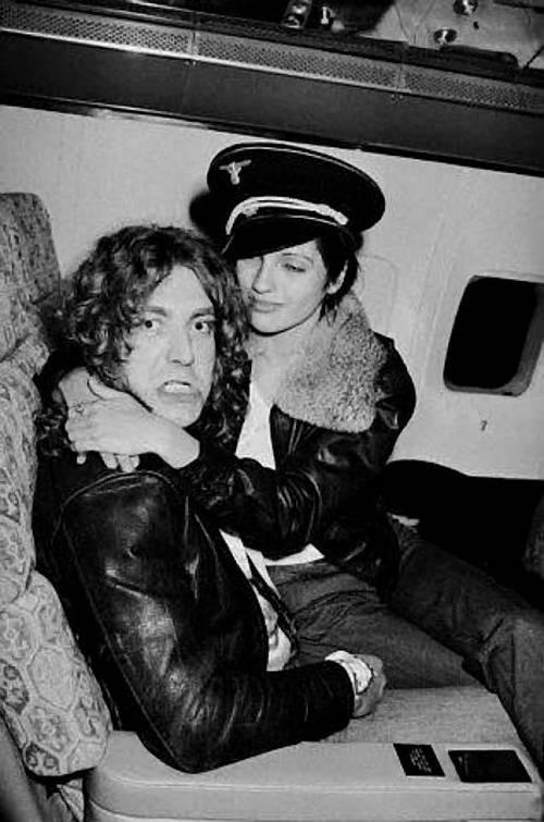 Robert Plant Girl airplane