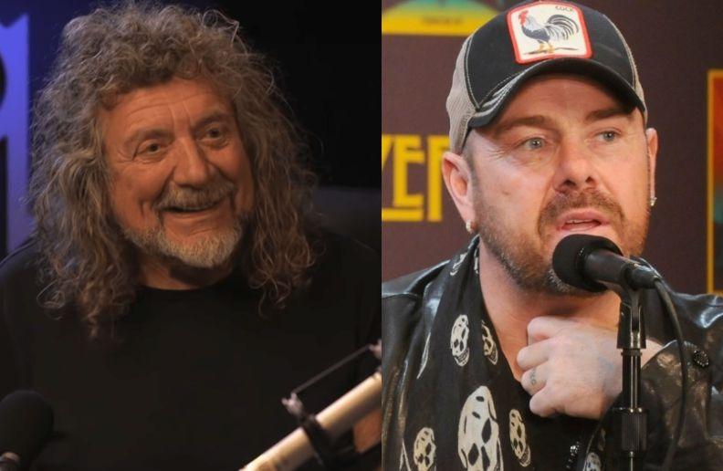 Robert Plant Jason Bonham