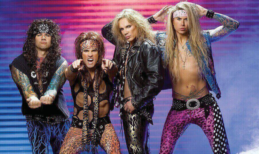 steel panther bassist leaves tour to take care of his sex addiction. Black Bedroom Furniture Sets. Home Design Ideas