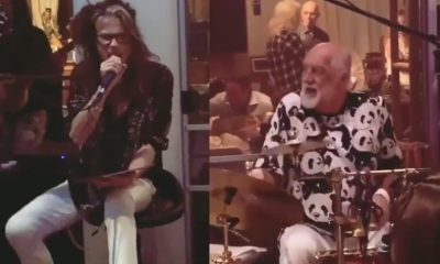 Steven Tyler Mick Fleetwood