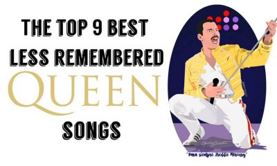 The Top 9 less remembered queen songs (1)