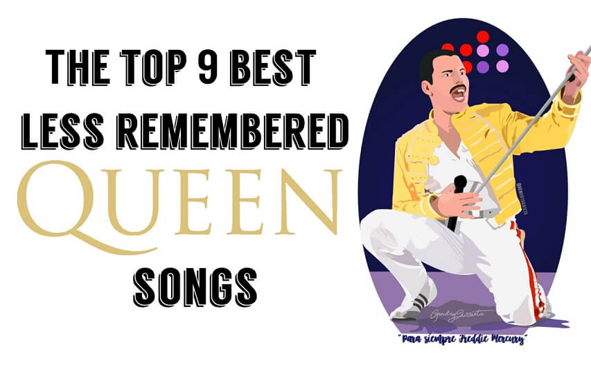 Queen less remembered songs