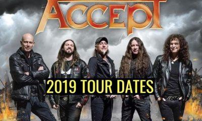 Accept 2019 tour dates