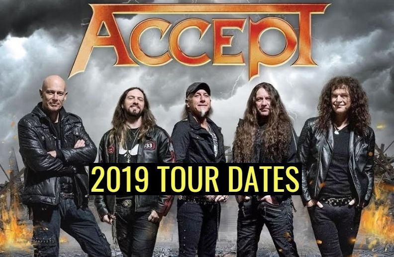 Accept 2019 tour dates