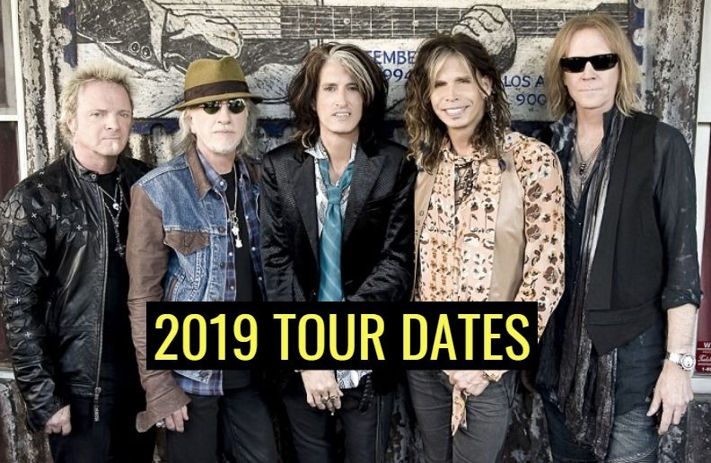 Aerosmith tour dates 2019