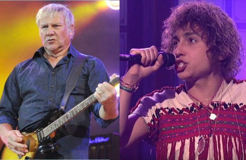 Alex Lifeson Greta Van Fleet