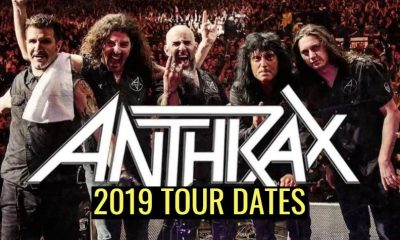 Anthrax 2019 tour dates