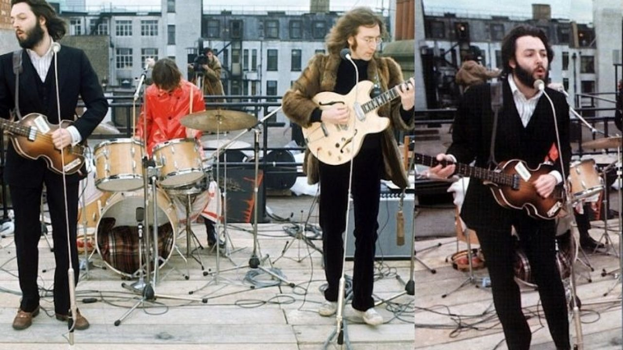 50 Years Ago The Beatles Made Their Last Concert On The Top Of A Building