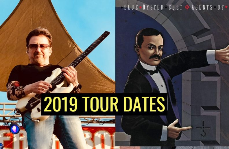 Blue Oyster Cult tour dates