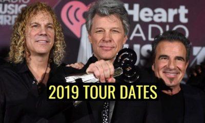 Bon Jovi 2019 tour dates
