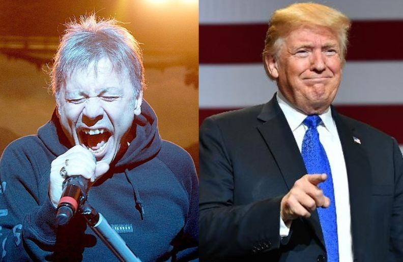Bruce Dickinson Donald Trump