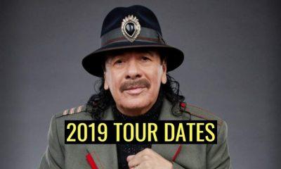 Carlos Santana 2019 tour dates