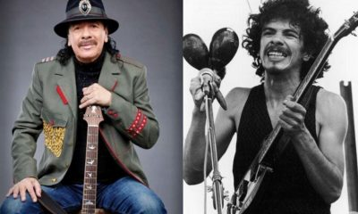 Carlos Santana woodstock now and then