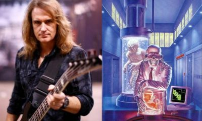 David Ellefson isolated bass