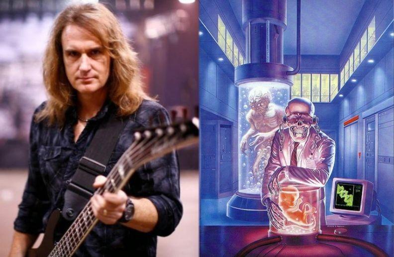 David Ellefson isolated bass