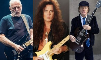 David Gilmour Malmsteen Angus Young