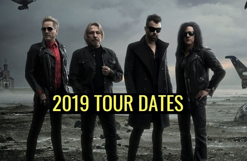 Deadland Ritual tour dates 2019