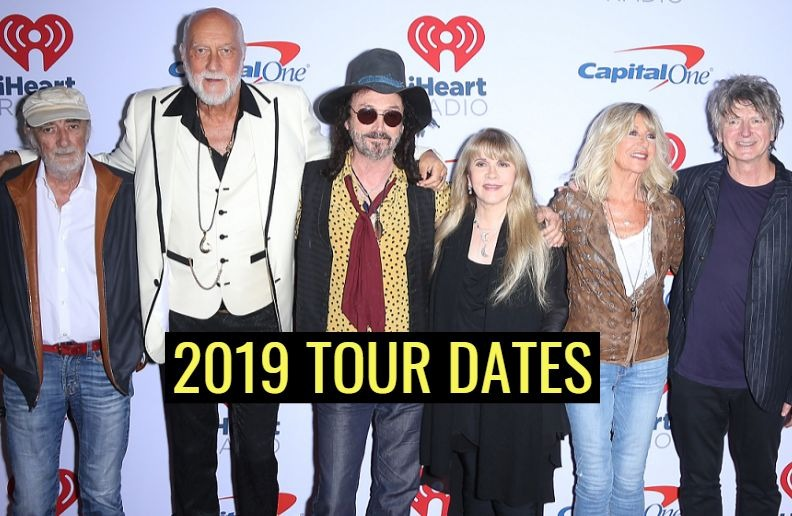 Fleetwood Mac 2019 tour dates
