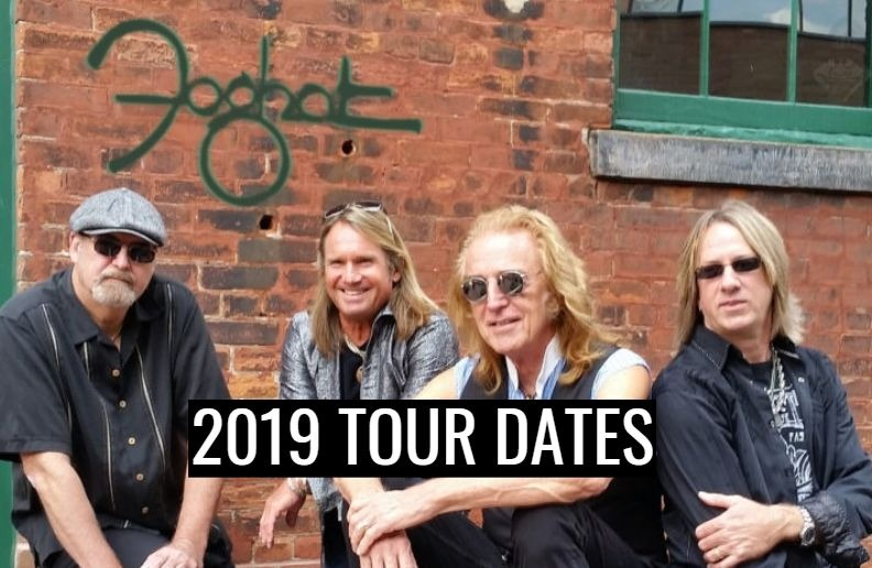Foghat 2019 tour dates