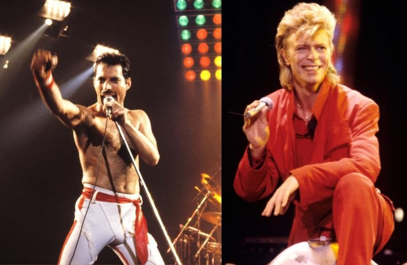 Freddie Mercury David Bowie