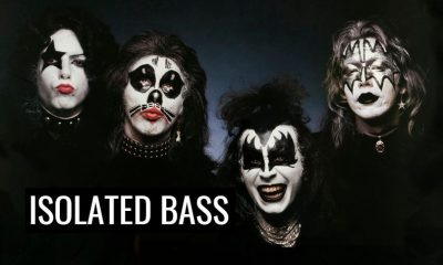Gene Simmons isolated bass