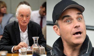 Jimmy Page Robbie Williams
