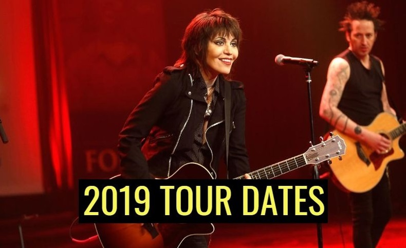 Joan Jett tour dates