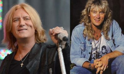 Joe Elliot now and then