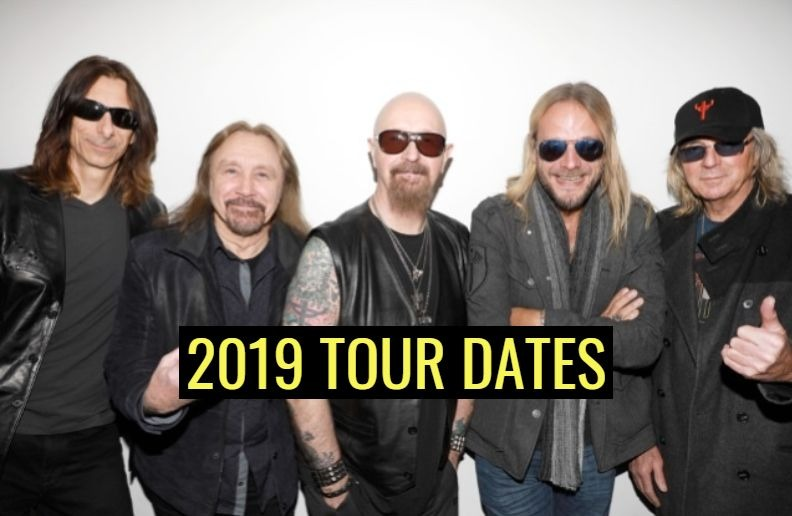 Judas Priest 2019 tour dates