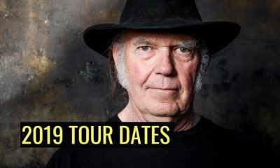 Neil Young 2019 tour dates